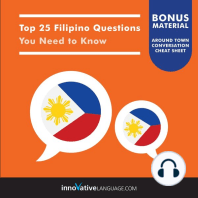 Top 25 Filipino Questions You Need to Know