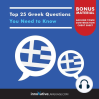 Top 25 Greek Questions You Need to Know