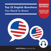 Top 25 English Questions You Need to Know