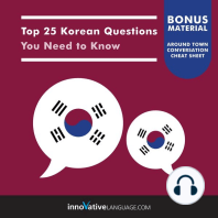 Top 25 Korean Questions You Need to Know