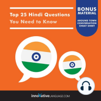 Top 25 Hindi Questions You Need to Know