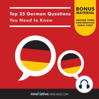 Top 25 German Questions You Need to Know