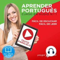 Aprender Portugués - Texto Paralelo - Fácil de Leer - Fácil de Escuchar - Curso en Audio No. 1 [Learn Portugese - Parallel Text - Easy Reader - Easy Audio - Audio Course No. 1]