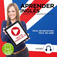 Aprender Inglés - Fácil de Leer - Fácil de Escuchar - Texto Paralelo Curso en Audio No.2 [Learn English - Easy Reader - Easy Audio - Parallel Text Audio Course No. 2]