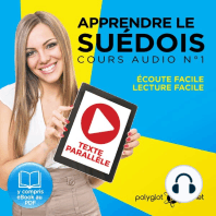 Apprendre le Suédois - Écoute facile - Lecture facile -Texte Parallèle Cours Audio No. 1 [Learn Swedish]