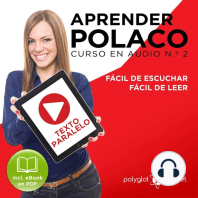 Aprender Polaco - Texto Paralelo - Fácil de Leer - Fácil de Escuchar