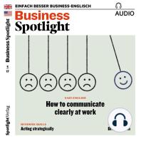Business-Englisch lernen Audio - Strategisch handeln