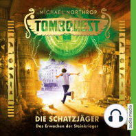 Tombquest - Die Schatzjäger. Das Erwachen der Steinkrieger