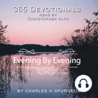 365 Devotionals Evening by Evening - by Charles H. Spurgeon