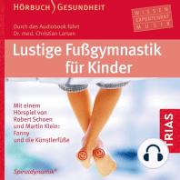 Lustige Fußgymnastik für Kinder