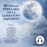 40 TEXTOS POPULARES DE LA LITERATURA UNIVERSAL: Selecciones Librophone