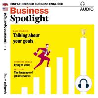Business-Englisch lernen Audio - Lügen am Arbeitsplatz