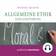 Allgemeine Ethik - Eine Einführung (Ungekürzt)