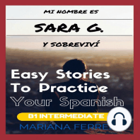 Mi Nombre es Sara G. y Sobrevivi