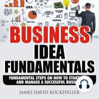 Business Idea Fundamentals