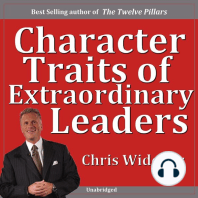 Character Traits of Extraordinary Leaders