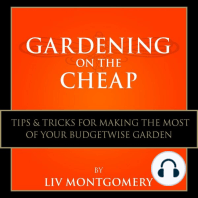 Gardening on the Cheap: Tips & Tricks for Making the Most of Your Kitchen Garden