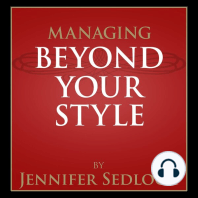 Managing Beyond Your Own Style