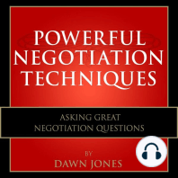 Powerful Negotiation Techniques
