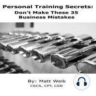 Personal Training Secrets