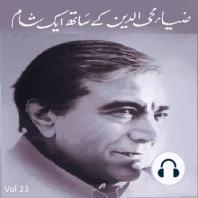 Zia Mohyeddin Kay Saath Eik Shaam Vol 23