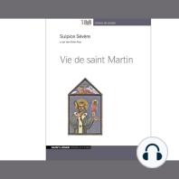 Vie De Saint Martin