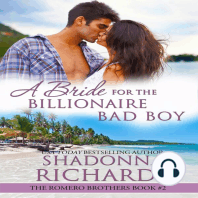 Bride for the Billionaire Bad Boy, A - The Romero Brothers Book 2