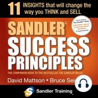 Sandler Success Principles