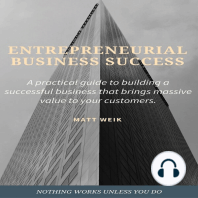 Entrepreneurial Business Success