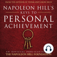 Napoleon Hill's Keys to Personal Achievement