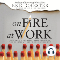 On Fire at Work: How Great Companies Ignite Passion in Their People Without Burning Them Out