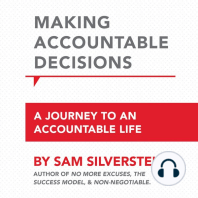 Making Accountable Decisions: A Journey to an Accountable Life