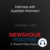 Interview with Ayatollah Khomeini