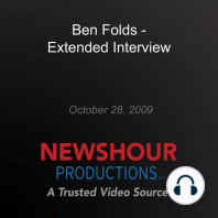 Ben Folds - Extended Interview