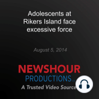 Adolescents at Rikers Island face excessive force