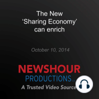 The New 'Sharing Economy' can enrich