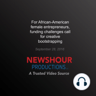 For African-American Female Entrepreneurs, Funding Challenges Call for Creative Bootstrapping