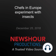 Chefs in Europe experiment with insects