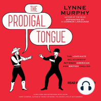 The Prodigal Tongue