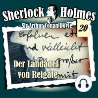 Sherlock Holmes, Die Originale, Fall 20