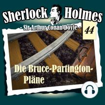 Sherlock Holmes, Die Originale, Fall 44: Die Bruce-Partington-Pläne