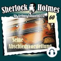 Sherlock Holmes, Die Originale, Fall 60