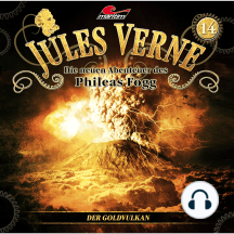 Jules Verne, Die neuen Abenteuer des Phileas Fogg, Folge 14: Der Goldvulkan