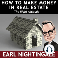 How to Make Money in Real Estate: The Right Attitude
