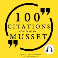 100 citations d'Alfred de Musset