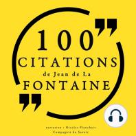 100 citations de Jean de la Fontaine