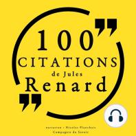 100 citations de Jules Renard
