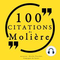 100 citations de Molière