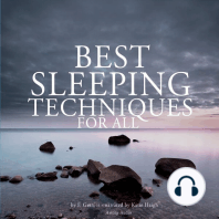 Best Sleeping Techniques for All