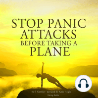 Stop panic attacks before taking a plane